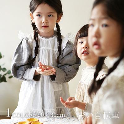 ecd7682651936  30%FF 無地・フリル付き・袖なしワンピース(1色) 90~130cm 女の子 キッズ 韓国子供服 人気 ナチュラル〈予約販売〉   19ss131ambE3